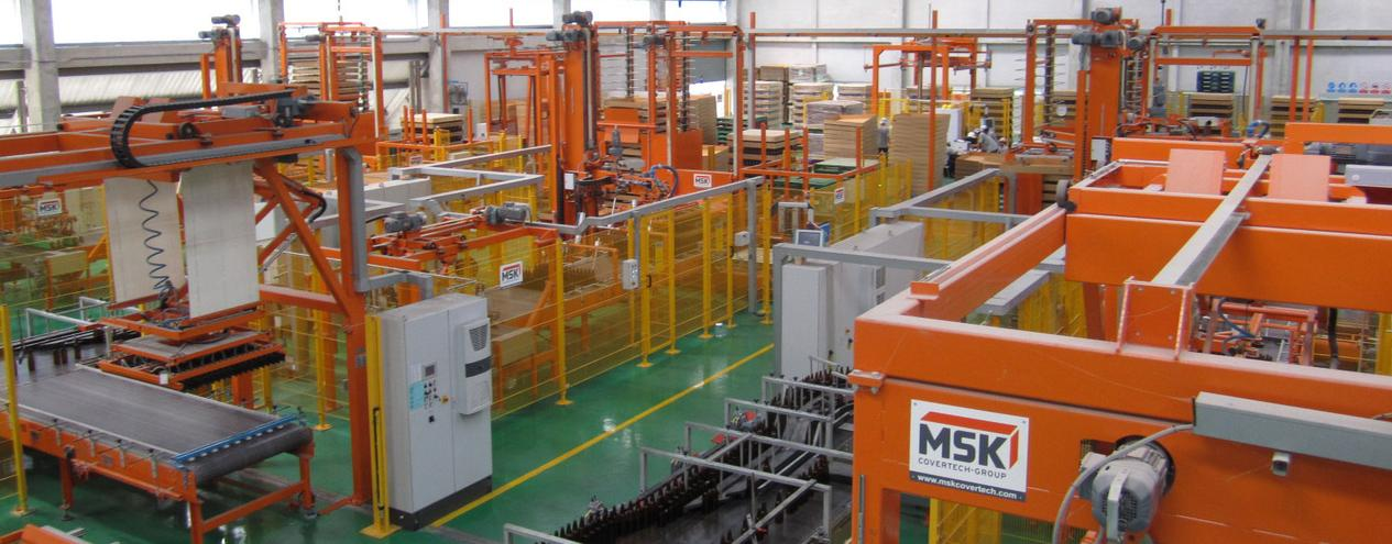 Packaging lines, conveyor systems and material handling systems a single source